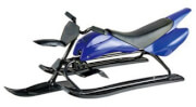 Sleigh-motorcycle Sport Lux blue