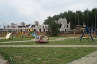 Наша работа - Playground structure - Siverinovka of Kiev region, the cottage settlement.