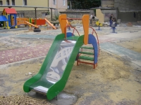 Наша работа - Sports equipment for the playground - Odessa, the residential development.