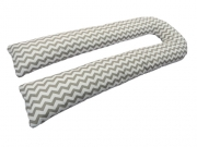 Pillow for pregnant KIDIGO U shaped zigzag (with pillowcase)