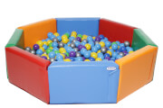 Soft Play Ball Pool KIDIGO™ Octahedron 1,5 m