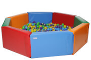 Soft Play Ball Pool KIDIGO™ Octahedron 2 m