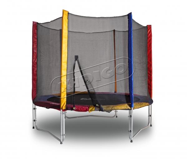 Батут KIDIGO™ 244 см. с защитной сеткой - фото 1