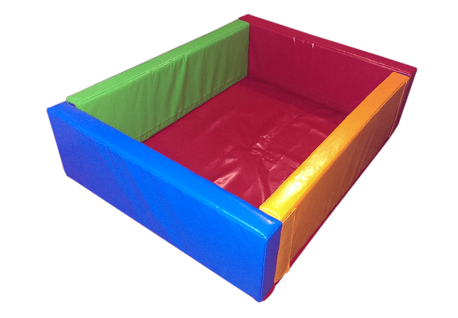 soft Play Ball Pool KIDIGO™ Square 1,1 m - фото 1