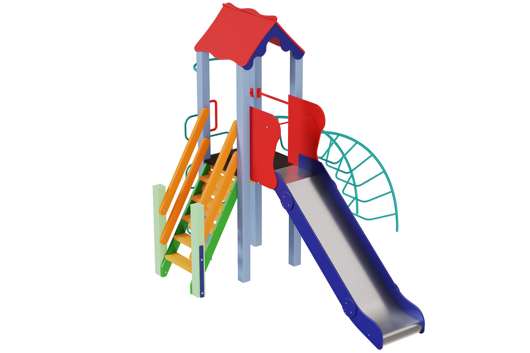 Classic playgrounds and components for children