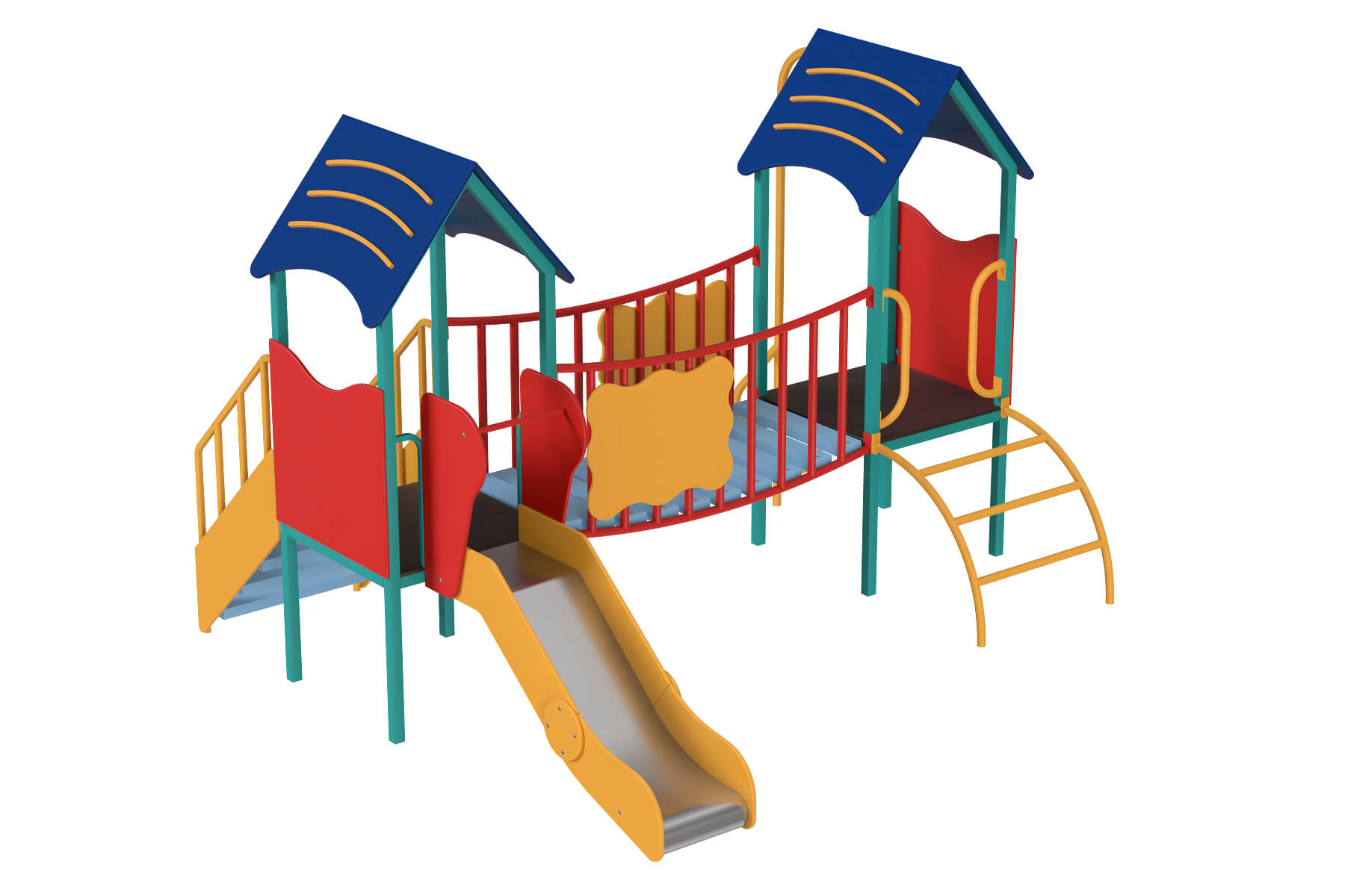 Exclusive playgrounds and components for children