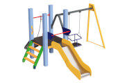 Playground complex Spider Kid 0,6